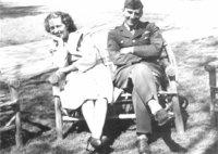 Avon Old Farms Convalescent Hospital -- Sgt. Zacchera & Ms. Yegin in chair
