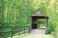 Countryside Park - covered bridge