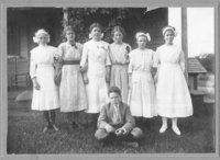 Towpath School, graduating class of 1912
