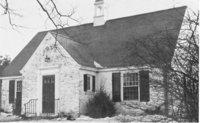 Exterior, Original Avon Free Public Library