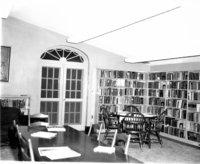 Interior, Original Avon Free Public Library