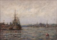 New London Harbor