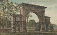 Elm Grove Cemetery Arch