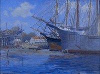 Pendleton Shipyard, Mystic, 1925