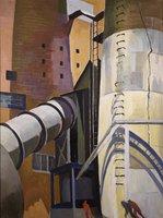Industrial Scene: Montville Stacks