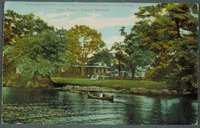 Ye Golden Spur Park, On The New London And East Lyme Street Railway, Clara Turners' Summer Residence