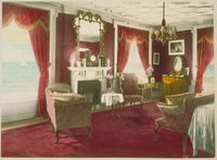 Bedroom (red), Branford House