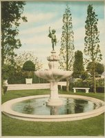 Cupid Fountain, Branford House