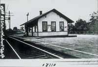 East Bound Railroad Station, Woodmont