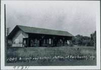 Discontinued Railroad Station, Fairhaven