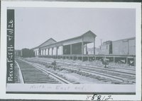 Freight House, Railroad Station, Putnam
