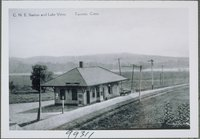 Central New England Railway Station And Lake View, Taconic