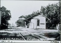 Central New England Railroad Station, Salisbury