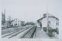 Witch Hazel Mill And Railroad Station, Chester