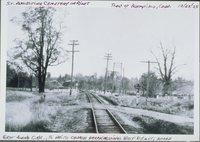 White Church Grade Crossing, Near St. Augustine Cemetery, Bloomfield