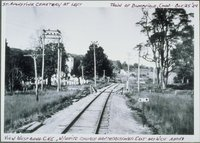 White Church Grade Crossing Along Central New England Railway Line, Bloomfield