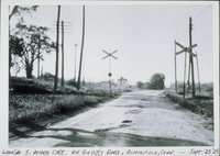 Gabbs Road, Looking South Across Central New England Railway Tracks, Bloomfield