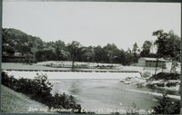 Dam And Gatehouse Of Collins Company, Collinsville