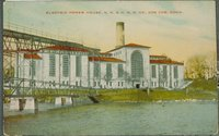 Electric Power House, New York, New Haven And Hartford Railroad, Cos Cob