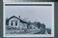 Central Vermont Railroad Station, Montville