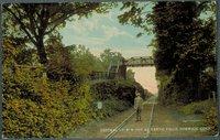Central Vermont Railroad Cut At Yantic Falls, Norwich
