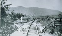 Furnace Grade Crossing, From East, East Canaan