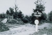 College Grade Crossing, East Of Whiting River Arches, North Canaan
