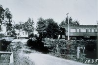 Gildersleeve Avenue, Looking North Over Central New England Railroad Tracks, Collinsville