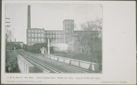 G.M.R. Shoe Company, New Shop , Wales Goodyear Shoes, Rubber Avenue Front, Capacity 25,000 Pairs Daily, Naugatuck