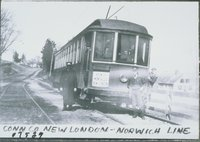 Connecticut Company, New London-norwich Line