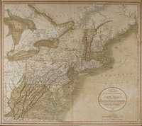 A new map of part of the United States of North America : containing those of New York, Vermont, New Hampshire, Massachusets [sic], Connecticut, Rhode Island, Pennsylvania, New Jersey, Delaware, Maryland and Virginia. From the latest authorities : 1811