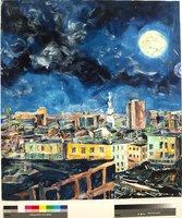 Full Moon Over Hartford V