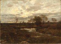 Pequabuck River, Farmington, 1895