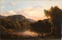 Landscape with Hunter