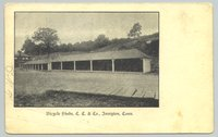 Bicycle sheds, Comstock, Cheney, & Co., Ivoryton