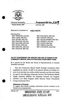 2004 HB-5309. An act concerning the amount and use of funds in the community mental health strategic investment fund