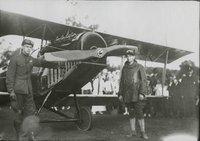 Aeroplane at a show