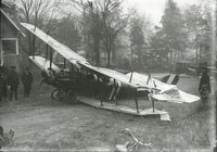 Aeroplane crash