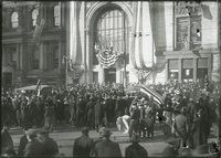 Armistice celebration, State Bank & Trust
