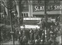Armistice celebration, Main Street