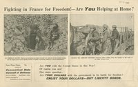 Fighting in France for freedom!