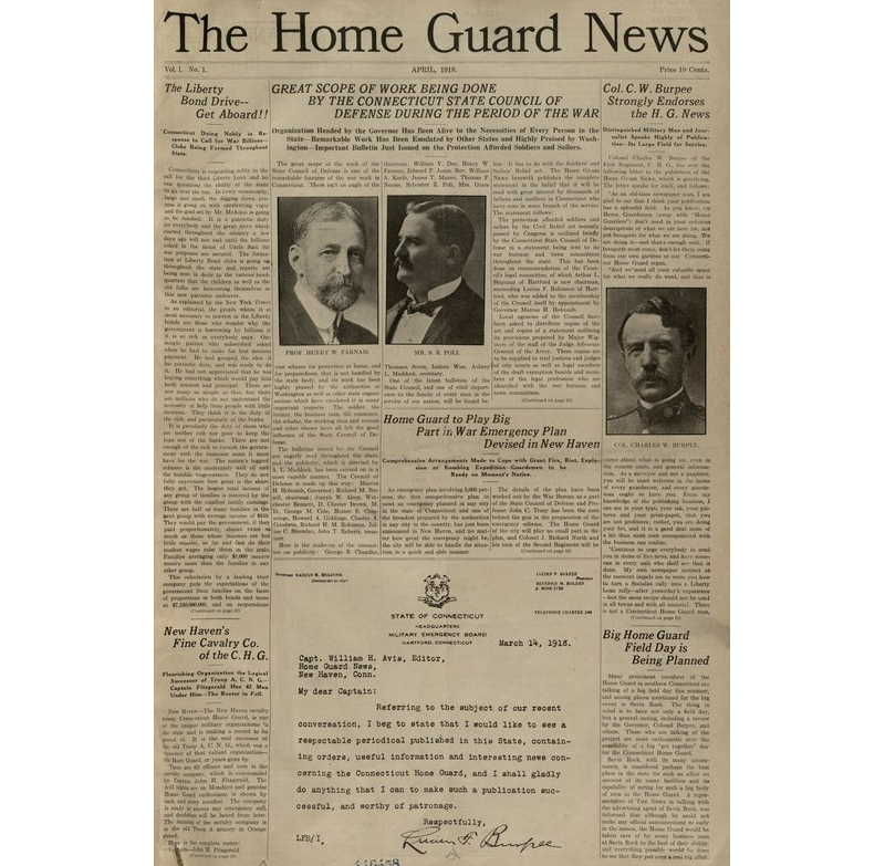Home Guard news, 1918