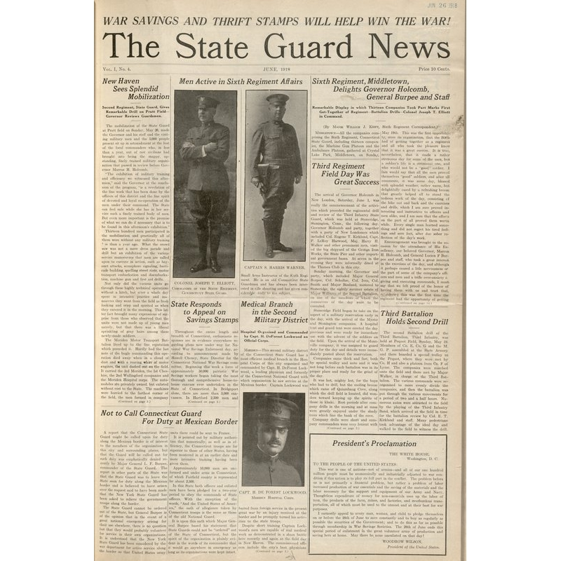 State Guard news, 1918-06 to 1919-02 (Archived issues)