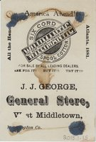 Willimantic Linen Company Trade Card (2013.1.15 b)