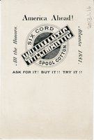 Willimantic Linen Company Trade Card (2013.1.16 b)