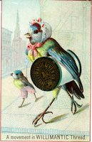 Willimantic Linen Company Trade Card (2013.1.17 a)