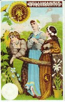 Willimantic Linen Company Trade Card (2013.1.20 a)
