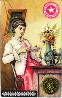 Willimantic Linen Company Trade Card (2013.1.21 a)