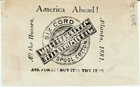 Willimantic Linen Company Trade Card (2013.1.21 b)
