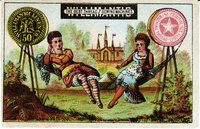Willimantic Linen Company Trade Card (2013.1.24 a)
